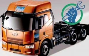 Диагностика и ремонт электрики грузовиков FAW на выезде