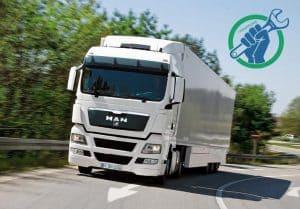 Диагностика и ремонт электрики грузовиков MAN на выезде