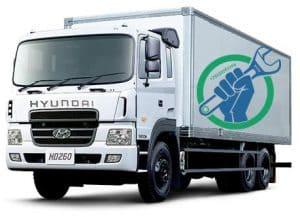 Диагностика и ремонт электрики грузовиков Hyundai на выезде